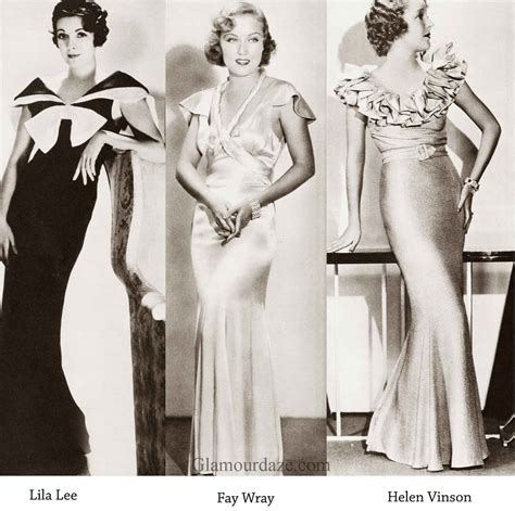 1930s Fashion Women S Dress And Hairstyles Glamourdaze | image from http image glamourdaze com 2015 01 1930s