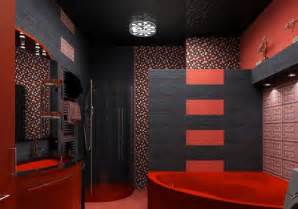 black white and red bathroom decor 2017 grasscloth wallpaper