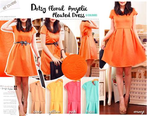 1615 5 Mini Dress Bahan Katun Strech dress free belt i l o v e f a s h i o n s s