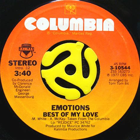 best of my emotions emotions best of my 45 s breakwell records