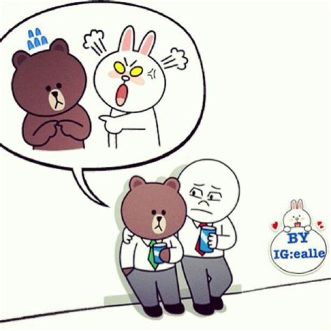 Kaos Line Emoticon Cony 1 Oceanseven 120 best images about brown cony on moon magic merry and cellphone