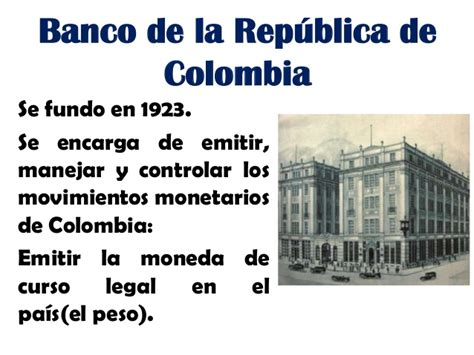 banco de colombia banco de la republica de colombia