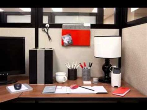 Modern Cabin Decor by Office Cubicle Decorating Ideas Youtube