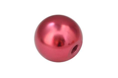 torque solution billet shift knob pink universal 10x1 25