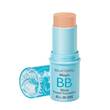 Silkygirl Bb Powder silkygirl magic bb stick powder all in one foundation 02