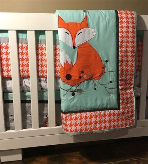 Fox Crib Bedding Dkl Clever As A Fox Crib Bedding Set Bedding Sets Design And Foxes