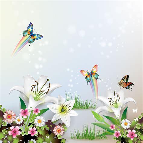 imagenes d mariposas hermosas image gallery hermosas flores con mariposas