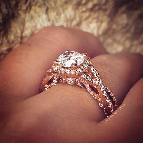 Verragio Engagement Rings .45CTW Diamond Setting