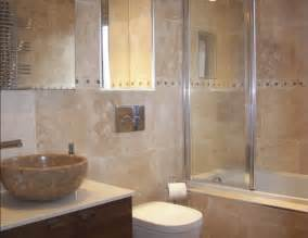 Wall Decorating Ideas For Bathrooms by Travertine Bathroom Wall Ideas Home Interiors