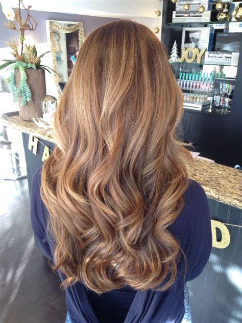 soft brown hair color balayage curls honey soft balayage
