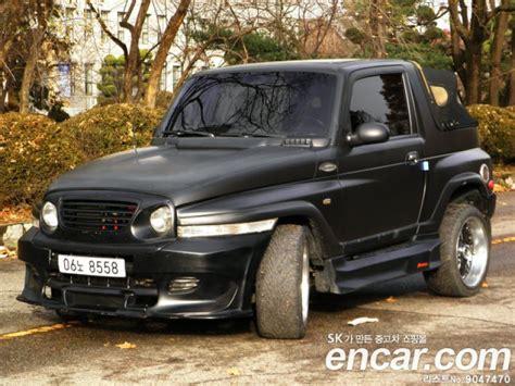 ssangyong korando 2000 2000 ssangyong new korando soft top 290sr deluxe 181016