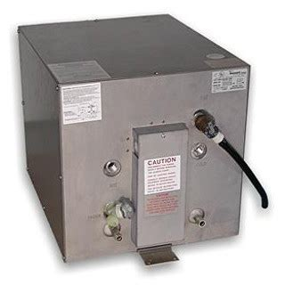 boat hot water heater seaward ac water heaters with engine heat exchanger
