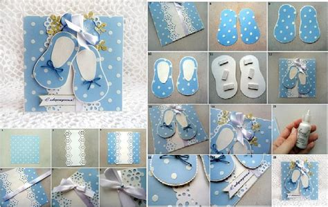 Make A Baby Shower Card by Diy Baby Shower Cards