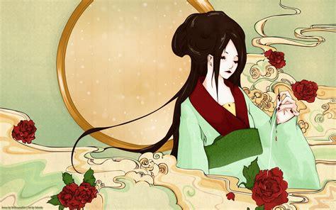 Geisha Original By Isrin Isran geisha fondos de pantalla geisha fotos gratis