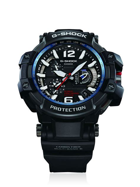 G Shock Gpg 1000 Black g shock master of g gpw 1000 gps hybrid in black for lyst