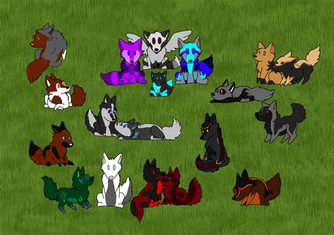 Empress Of Wolves empress pack family by alpha she wolf on deviantart