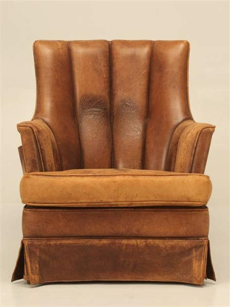 french leather armchair french leather armchair with magazine pocket for sale at 1stdibs
