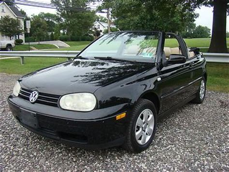 volkswagen convertible 2000 purchase used 2000 volkswagen cabriolet convertible