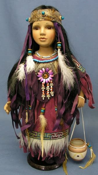 4 foot porcelain doll indian porcelain doll rec d as a gift from trip to