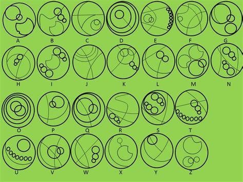 gallifreyan tattoo generator gallifreyan alphabet by darkifaerie on deviantart
