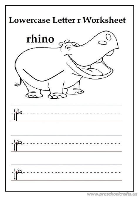 free printable worksheets grade r writing uppercase letter r is for rhino worksheets for 1st