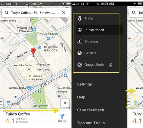 map apps swipe your way to better results in the maps app ios tips cult of mac