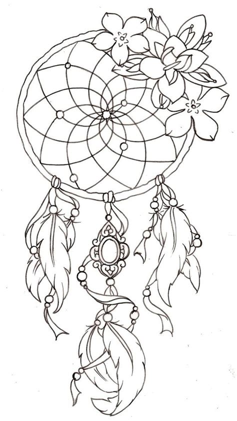 dream catcher template tattoos i like pinterest best