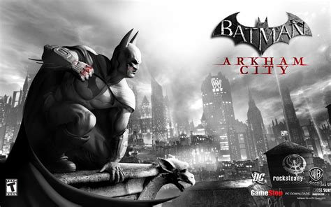 Kaos Batman Arkham City 1 batman arkham city wallpaper wallpapersafari