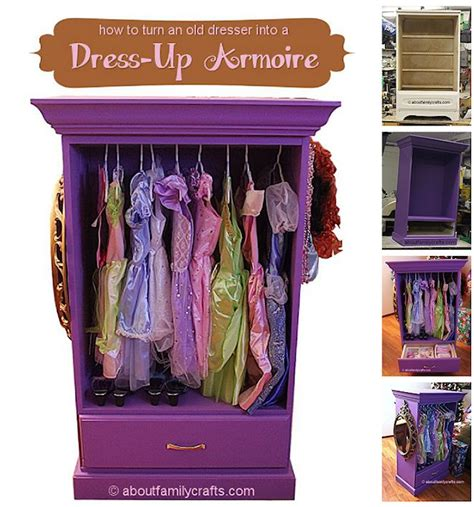 How To Dress A Dresser dress up armoire as seen on about family crafts