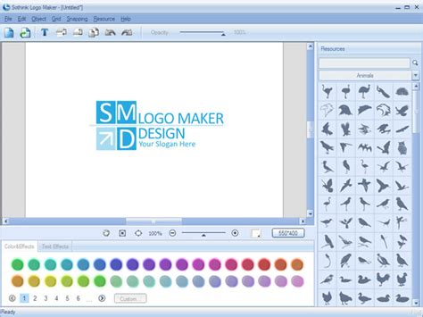 design logo using your own image sothink logo maker allows you to design professional logos
