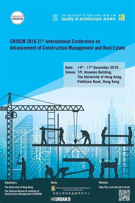 Mba In Real Estate And Construction Management In Canada by Criocm 2016 21st International Conference On Advancement