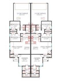 duplex floor plans with 2 car garage a plus house plans plan 1228 duplex 130