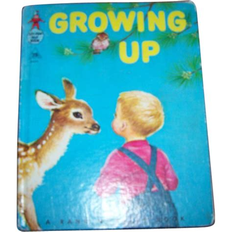 picture books about growing up children s book growing up rand mcnally c mcmlvi from