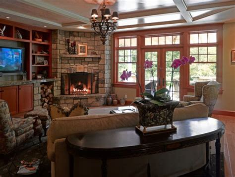 fireplace living room ideas corner fireplaces a simple way of spreading a wonderful
