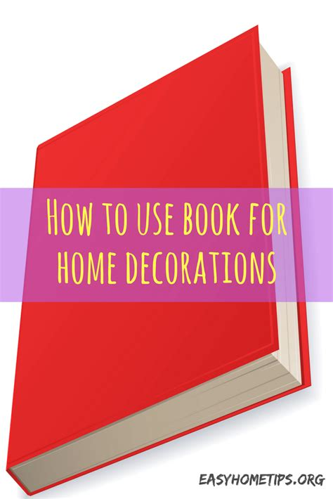 popular 5 ideas using books for home decoration
