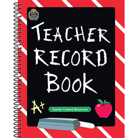 picture books for teachers chalkboard record book tcr2119 created