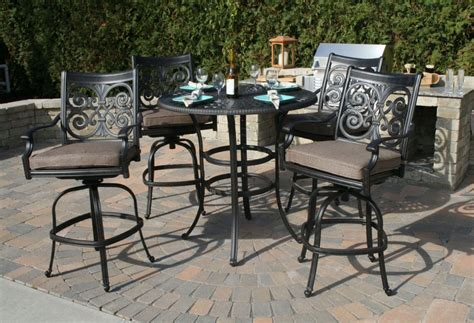Furniture High Top Table And Chairs Dining Hightop Table High Top Outdoor Patio Furniture
