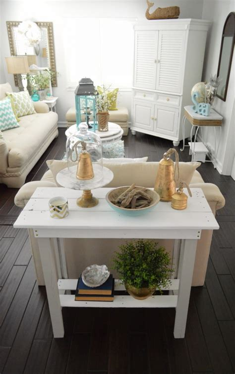 beach house decorating ideas on a budget it all started with a cake plate fox hollow cottage