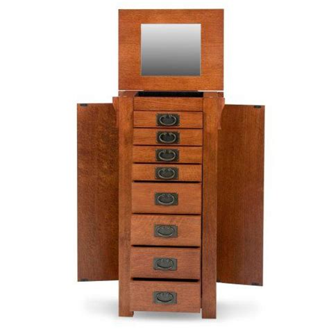 powell mission oak jewelry armoire 144 best images about storage ideas on pinterest purse storage shoe storage and