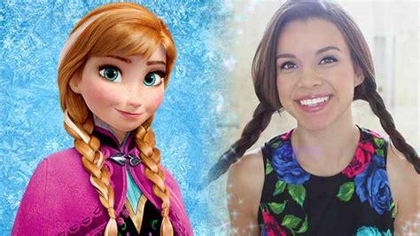 anna from frozen hairstyle anna disney frozen