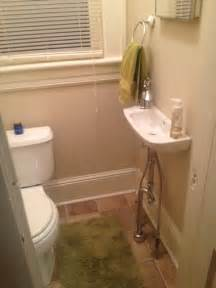 Small space but the sink really is all you need in a second bathroom