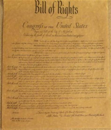 what section of the constitution is the bill of rights religious freedom our founding fathers and marriage