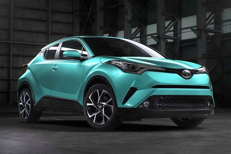 toyota chr 2017 toyota c hr exterior colour options revealed ahead of