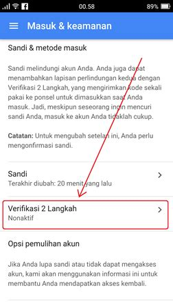 buat akun gmail   hp android iphone  pc