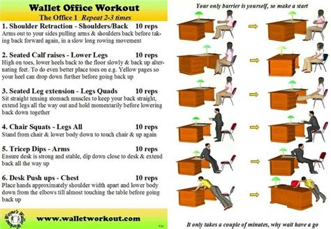 Office Workouts At Desk 17 Best Images About Cubicle Exercise On The Office Periods And