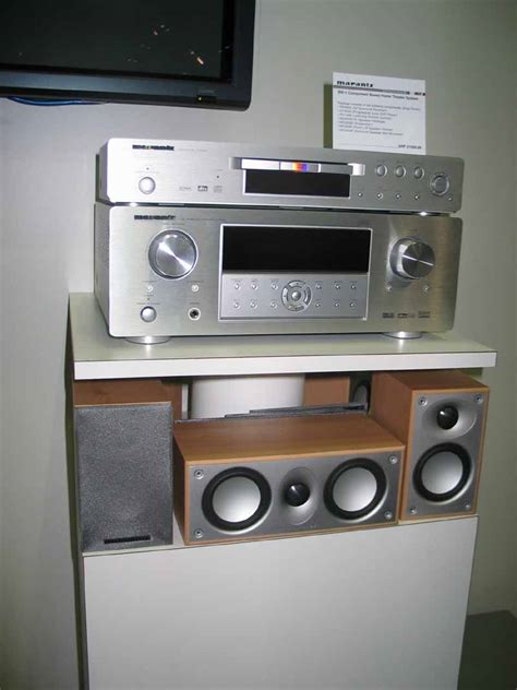 marantz bw 1 component based home theater system audioholics