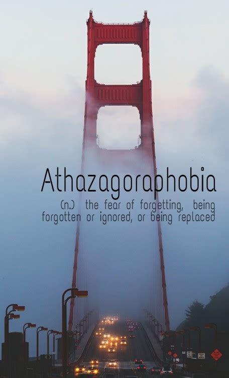 athazagoraphobia  tumblr