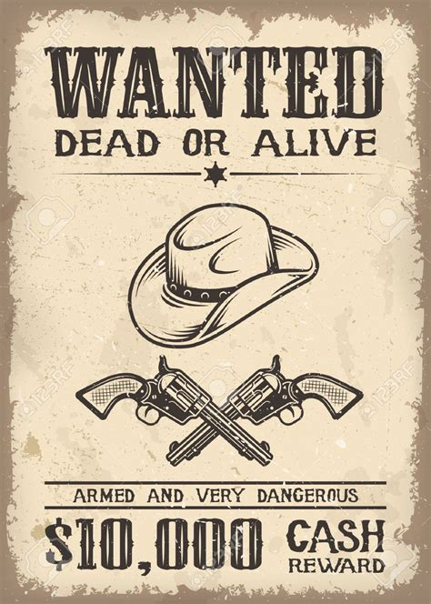 wild west wanted poster mt home arts