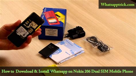 Nokia Senter Dual Sim messenger for nokia 206