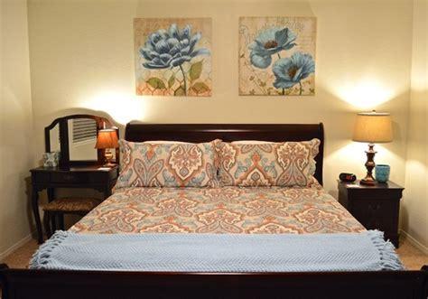 finished master bedroom decor